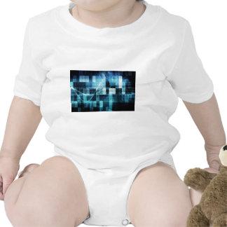 Futuristic Technology Baby Bodysuits