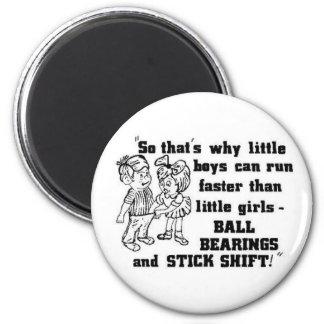 Fuuny adult humor 6 cm round magnet