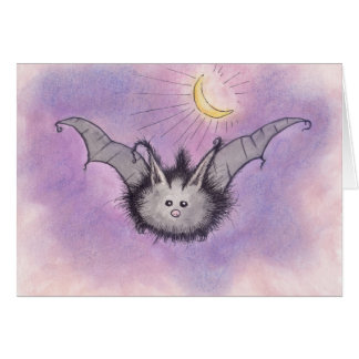 Fuzzy Bat Card