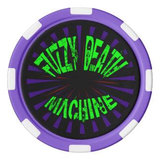 Fuzzy Death Machine - Poker Chips