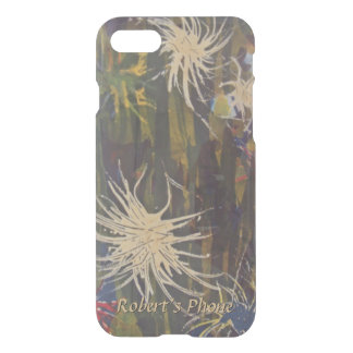 Fuzzy Floating Things in the Jungle Your Name iPhone 8/7 Case