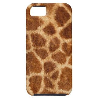 Fuzzy Giraffe Fur Pattern iPhone 5 Case