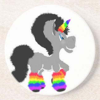 Fuzzy Unicorn Coaster
