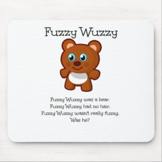 Fuzzy Wuzzy Mouse Pad