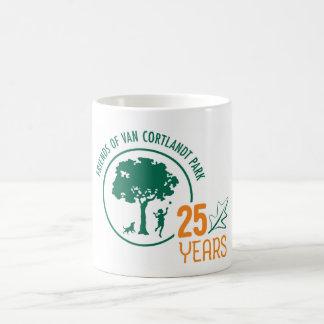 FVCP 25th Anniversary Logo Coffee Mug