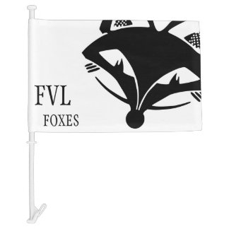 FVL Foxes Car Flag