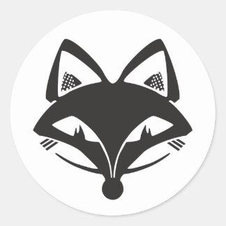 FVLHS Foxhead Classic Round Sticker