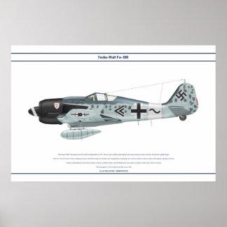 Fw-190 A-8 JG3 2 Poster