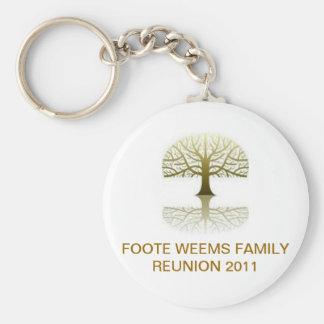 FW FAMILY REUNION KEYCHAIN '11