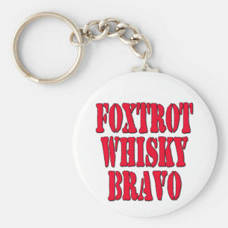 FWB Friends With Benefits Key Ring