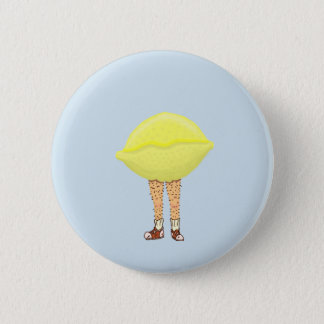 Hairy badges pins for Lemon button