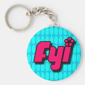 FYI Keychain