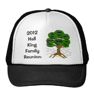 G2  2012 Hall / King Family Reunion Hat