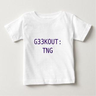 G33KOUT: TNG BABY T-Shirt