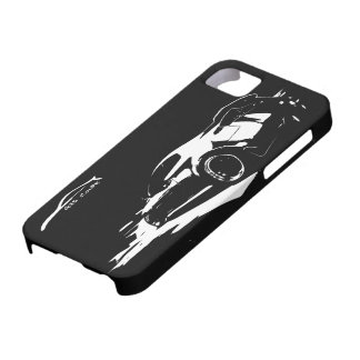 G35 Coupe Rolling shot w/ White Silhouette Logo iPhone 5 Covers
