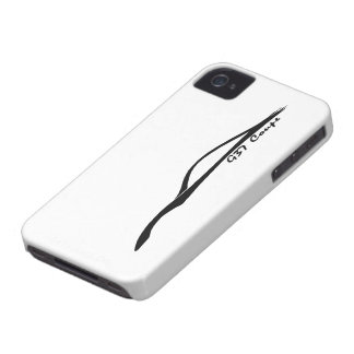 G37 Coupe Black Silhouette Logo Case-Mate iPhone 4 Case