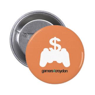 G4C Economy Icon 6 Cm Round Badge