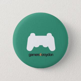 G4C Gamer Icon 6 Cm Round Badge