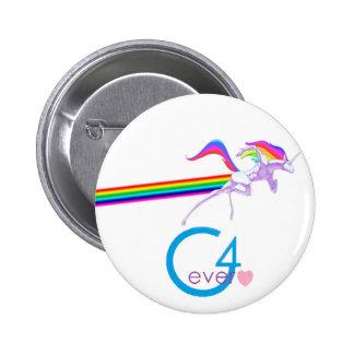 G4ever's Robot Unicorn. 6 Cm Round Badge