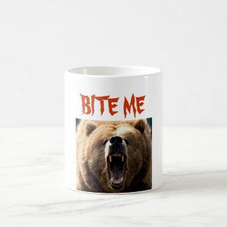 G, BITE ME COFFEE MUG