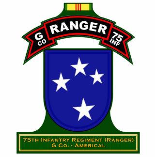 G Co, 75th Infantry Regiment - Ranger, Vietnam Standing Photo Sculpture