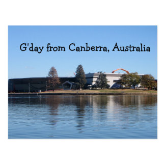 G day from Canberra Australia Post Cards