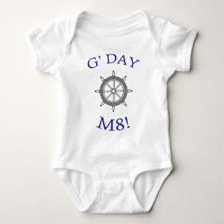 """G' Day M8!"" Baby Bodysuit"