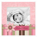G Girl Announcement Card Square