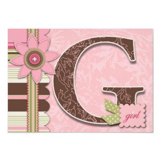 G Girl Invitation
