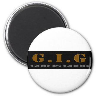G.I.G MAGNET BROWN/BLACK/WHITE