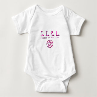 G.I.R.L. BABY BODYSUIT