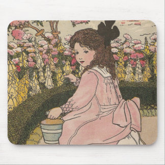 G is For Garden Mouse Pad