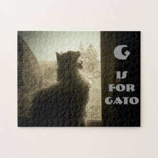 G is for Gato Puzzle