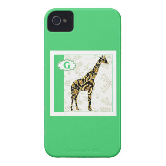 G is for Giraffe iPhone 4 Case-Mate Cases
