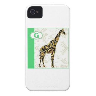 G is for Giraffe iPhone 4 Covers