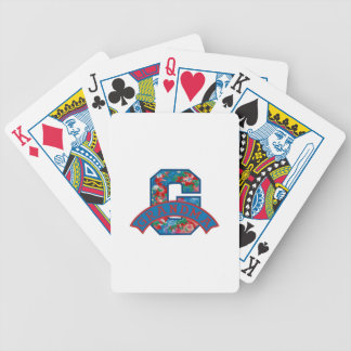 G Is For Grandma Bicycle Playing Cards