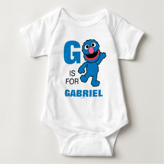 G is for Grover Baby Bodysuit