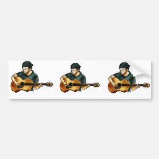 G is for Guitar Bumper Sticker