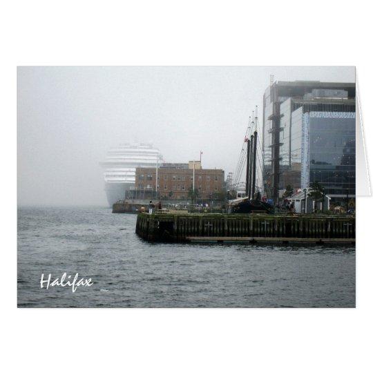 g/nc Artisanware Travel Halifax Card