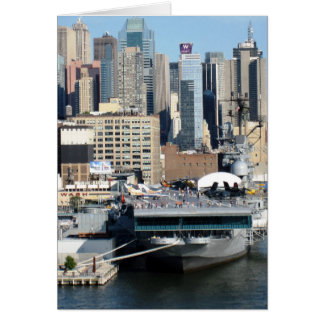 g/nc Artisanware Travel NYC Hudson River Card