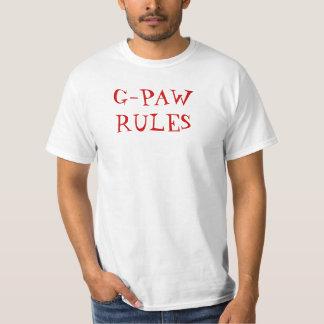 G-PA RULES T-SHIRTS