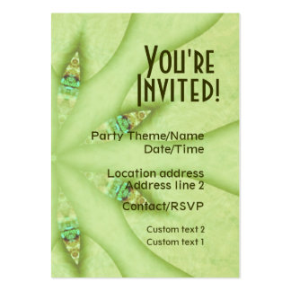 G- Party Invite Card Business Cards