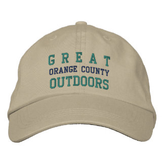 G R E A T OUTDOORS, ORANGE COUNTY EMBROIDERED HATS