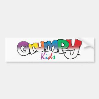 G.R.U.M.P.Y. Kids Wear Bumper Sticker
