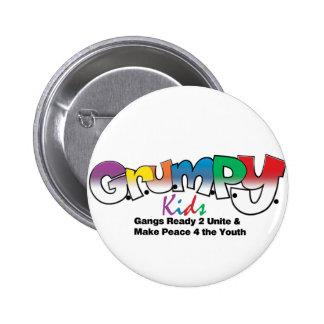 G R U M P Y Kids Wear Pins