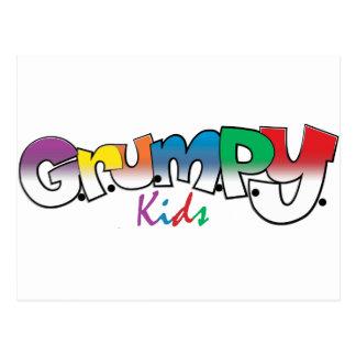 G.R.U.M.P.Y. Kids Wear Postcard