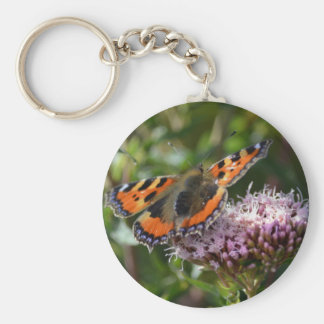 G_red_admiral_001 Key Ring