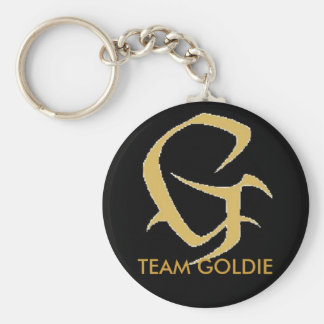 g, TEAM GOLDIE Key Ring