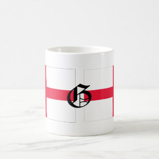 G-text English-Flag Mug