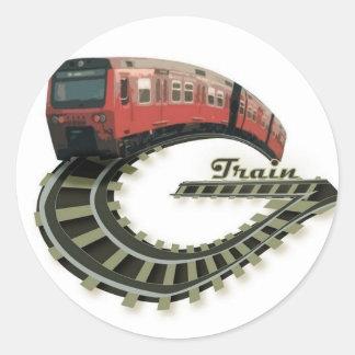 G Train Logo Sricker Round Sticker